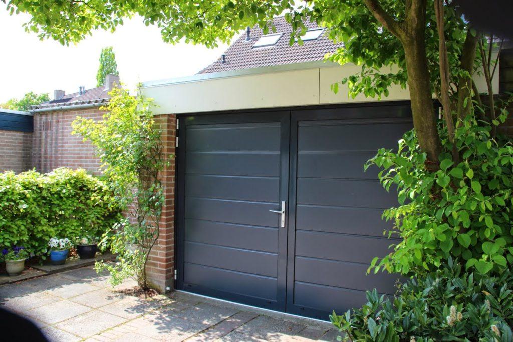 New ✓ Openslaande garagedeuren op maat gemaakt | Brabant Deur #BV23