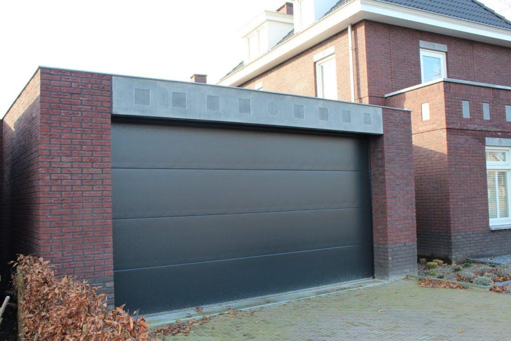 Sectionaaldeur design voor een stijlvolle garagedeur for Brabant deur