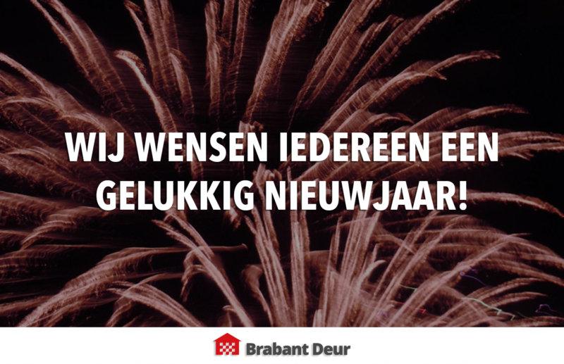 gelukkig nieuwjaar | Brabant Deur
